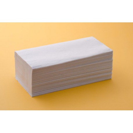 Toalla Z Tisú Reciclada Blanca
